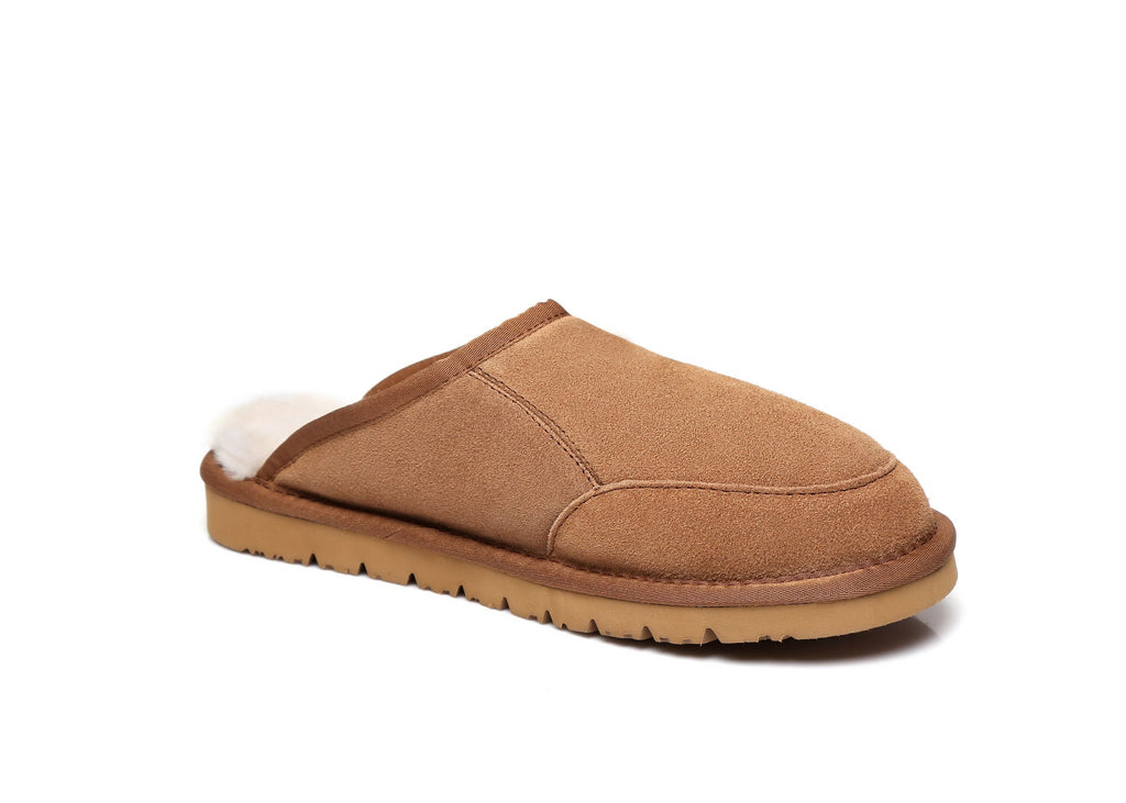 UGG Boots - AS UGG Men Slippers Scuffs Bred #15563