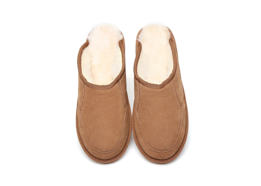UGG Boots - AS UGG Men Slippers Scuffs Bred #15563 (1721526452282)