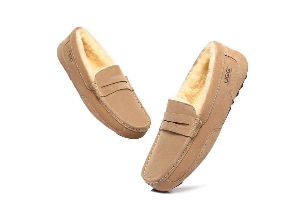 AS UGG Mens Fashion Moccasin (4266626187322)