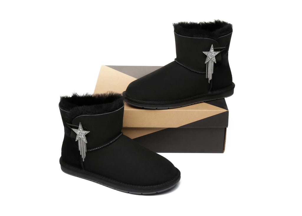 UGG Boots - AS UGG Mini Boots Side Star Button Meteor