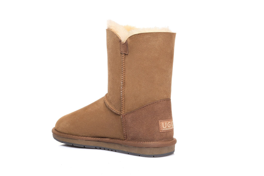 UGG Boots - AS UGG Short Button Boots #15802