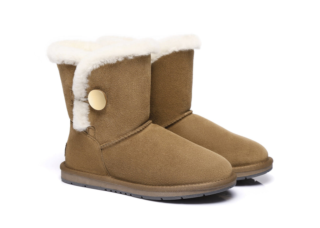 AS UGG Short Button Boots Alva #511021