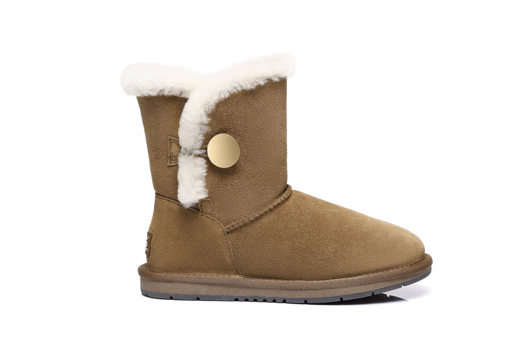 AS UGG Short Button Boots Alva #511021 (2444322308154)
