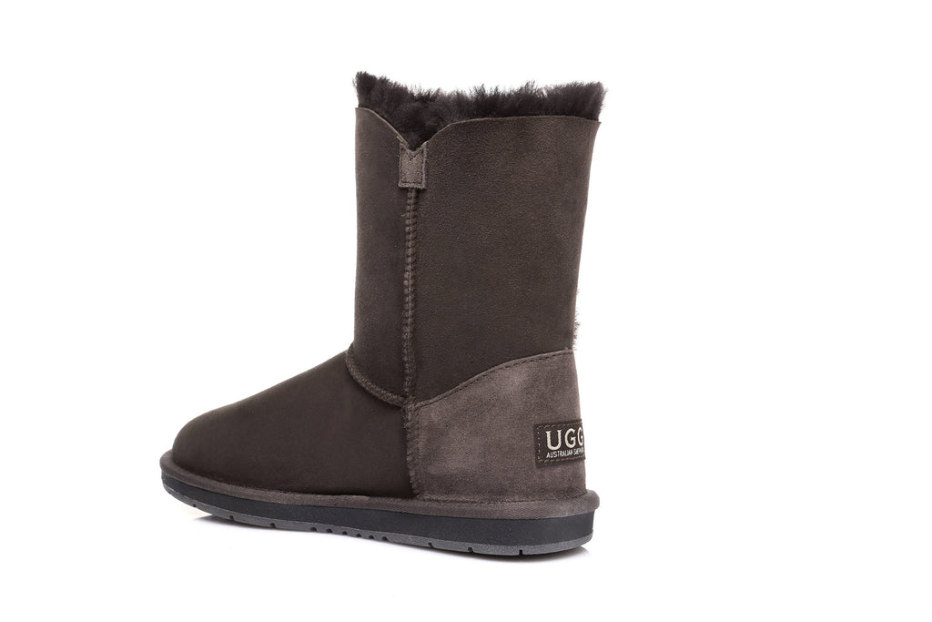 UGG Boots - AS UGG Short Button Boots With Crystal #15802 (10269171091)