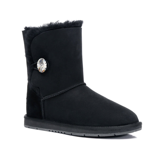 UGG Boots - AS UGG Short Button Boots With Crystal #15802
