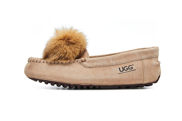 UGG Boots - AS UGG Sophie Moccasin With Pom Pom #522016