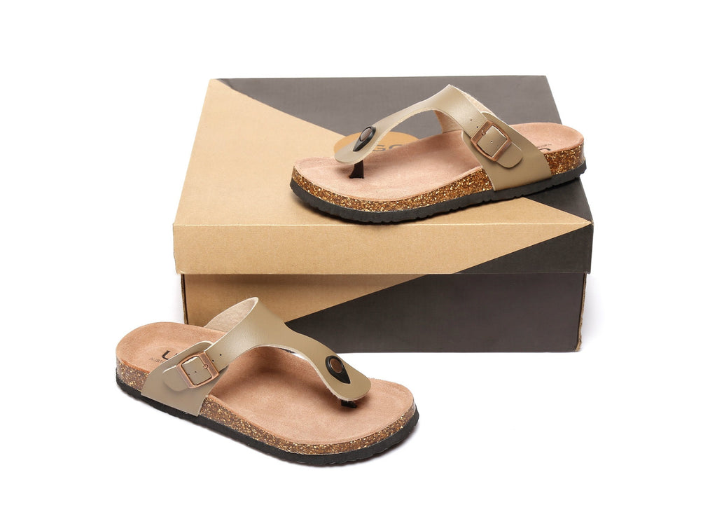AS UGG Summer Unisex Beach Slip-on Flats Slides Thongs Beck (2523646951482)