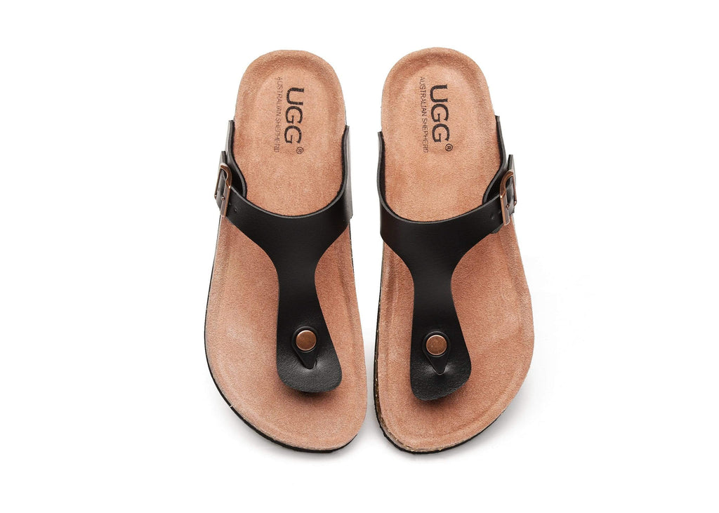 UGG Boots - AS UGG Summer Unisex Beach Slip-on Flats Slides Thongs Beck