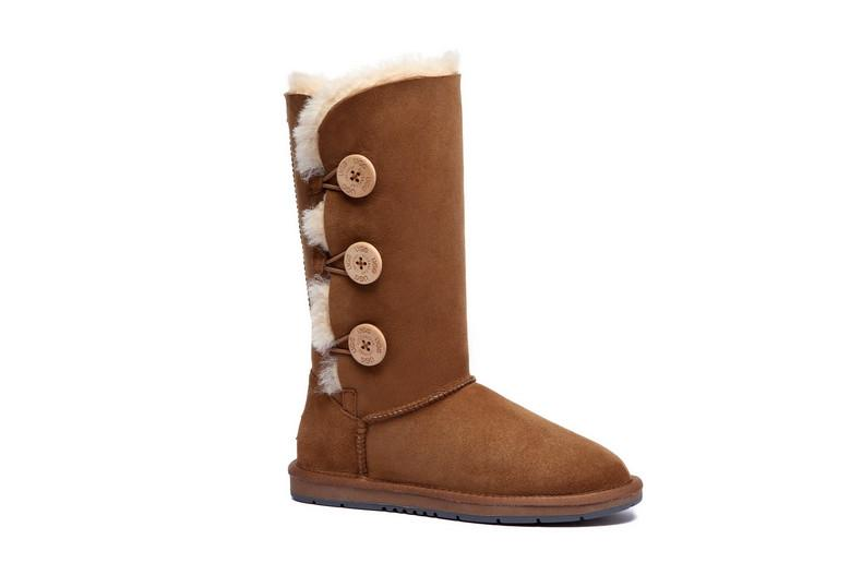 UGG Boots - AS UGG Tall Triple Button Boots #15902 (10762416723)