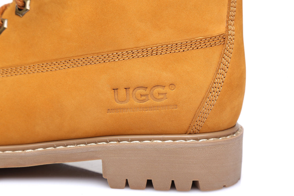 AS UGG Unisex Leather Boots Men's Noah #M15800