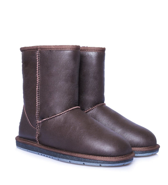 UGG Boots - AS UGG Unisex Short Classic Nappa Boots #15801