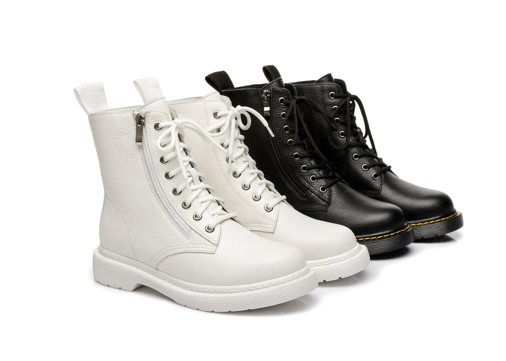 AS UGG Zip Up Chunky Boots Belen (4200966586426)