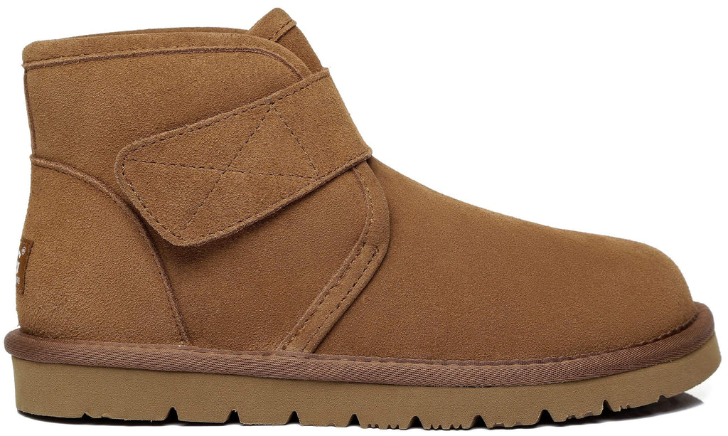 UGG Boots - AS Unisex Sheepskin Ankle Ugg Boots Dylan