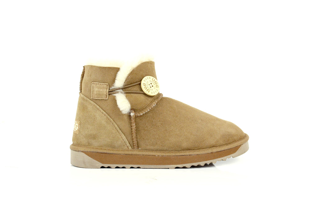 UGG Boots - Australian Made Mini Button UGG Boots #12702 (7526811143)