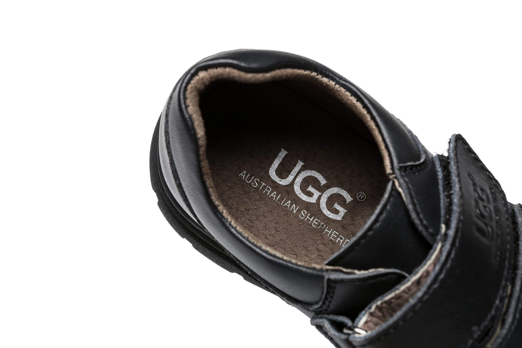 UGG Boots - Ava Kids Leather School Shoes