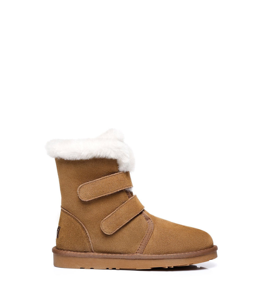 UGG Boots - Ever UGG Buckle Boots Nordic #21566 (2019831316538)
