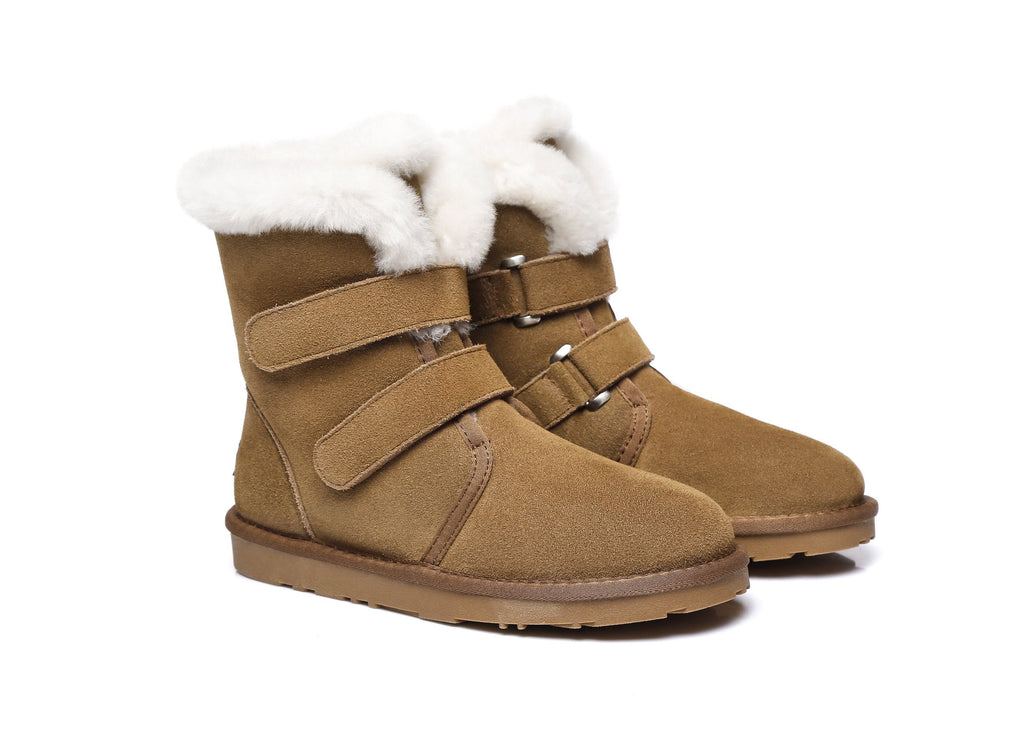 Ever UGG buckle Boots Nordic #21566 (2019831316538)