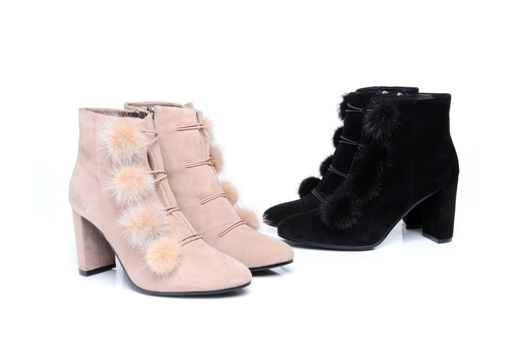 UGG Boots - Ever UGG High Heel Boots Michelle #11991 (528515301434)