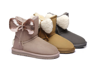 Ever UGG Kids Boots with Bow vela #371002
