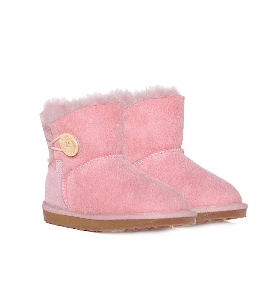 UGG Boots - Ever UGG Kids Mini Button Boots #11512 (10212764563)