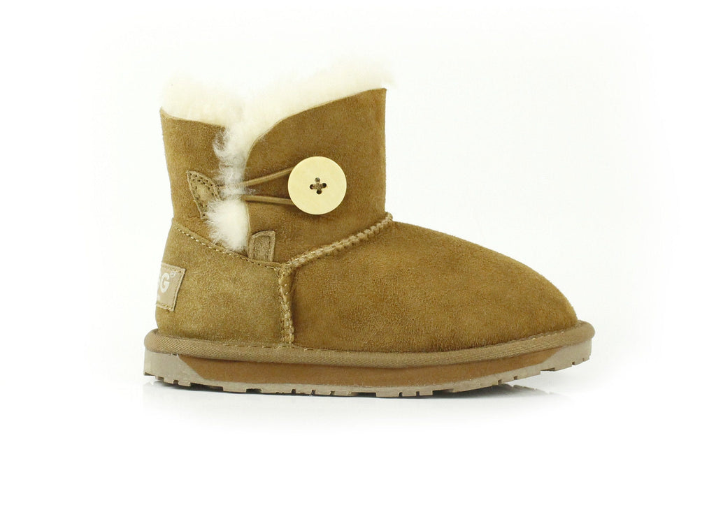 Ever UGG Kids Mini Button Boots #11512