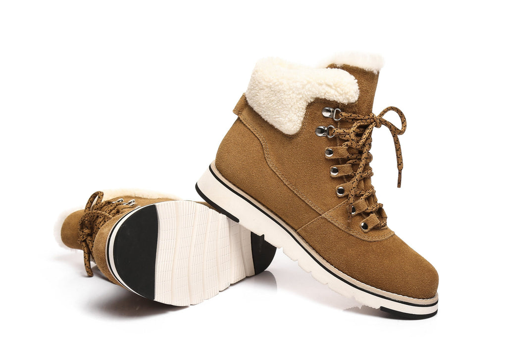 Ever UGG Laceup Boots Manca