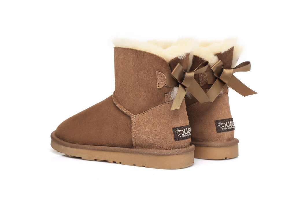 Ever UGG Mini Women Boots with Bailey Bow (10525547155)