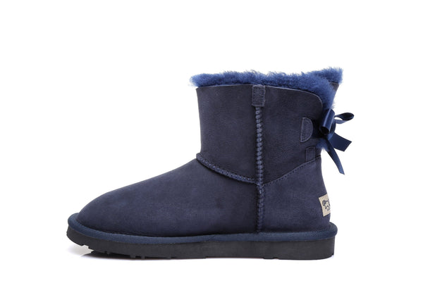 UGG Boots - Ever UGG Ladies Bailey Bow  Mini Classic Boots #11737