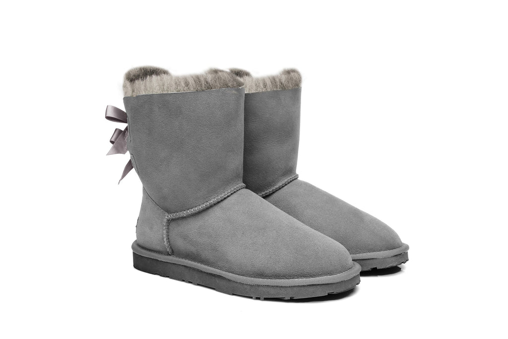 80bb218b9bb Ever UGG Ladies Bailey Bow Short Classic Boots #11837