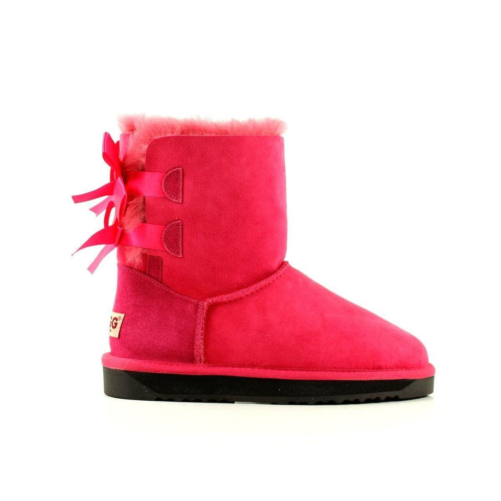 45c742df8eb Ever UGG Ladies Bailey Bow Short Classic Boots #11837