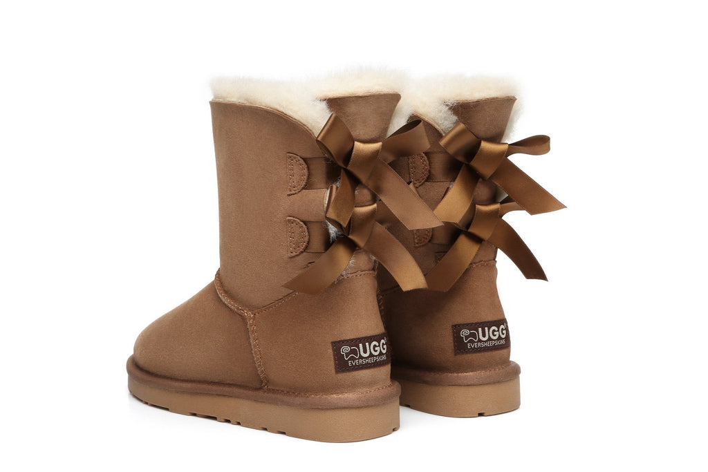 Ever UGG Ladies Bailey Bow Short Classic Boots #11837 (9872985287)