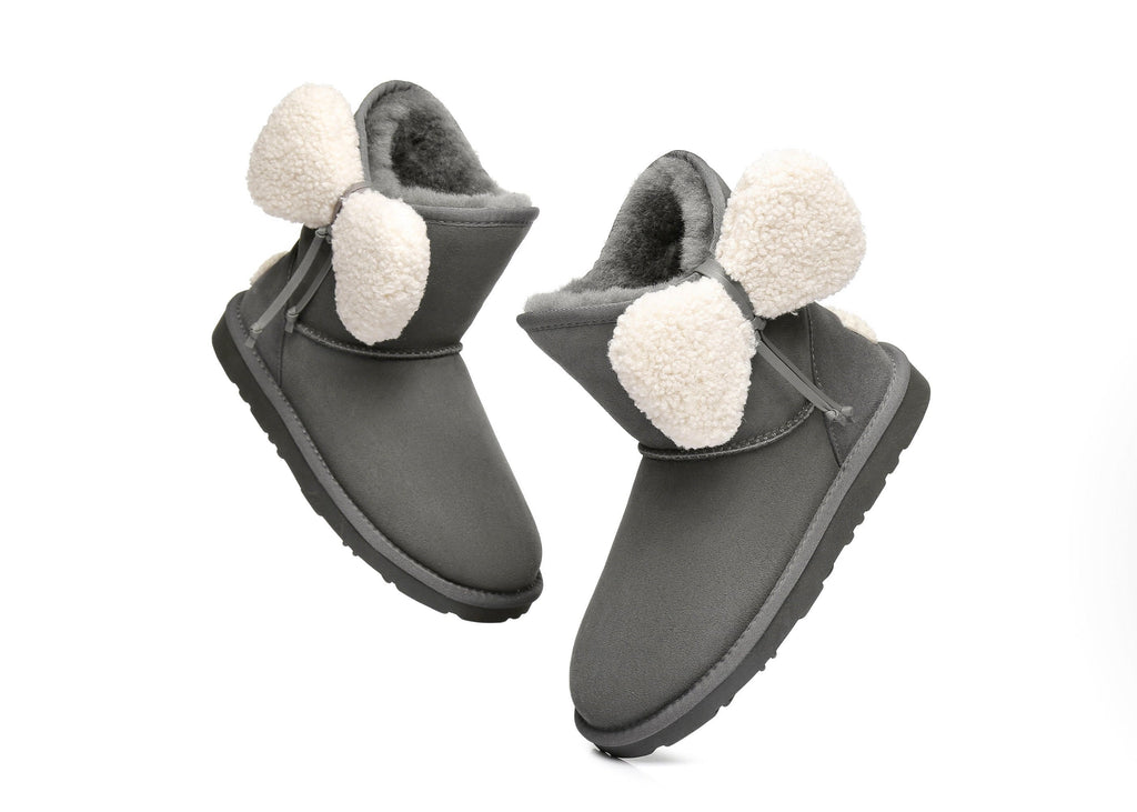 Ever UGG Ladies Boots with Bow vela#371001