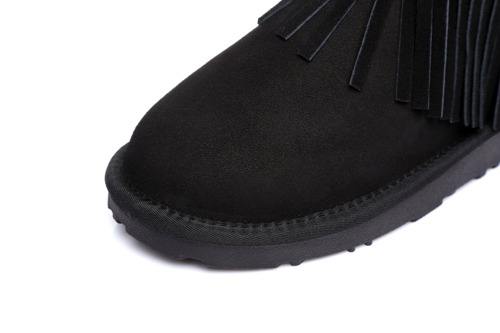 UGG Boots - Ever UGG Ladies Fashion Ankle Boots Trinity #11782 (528460644410)