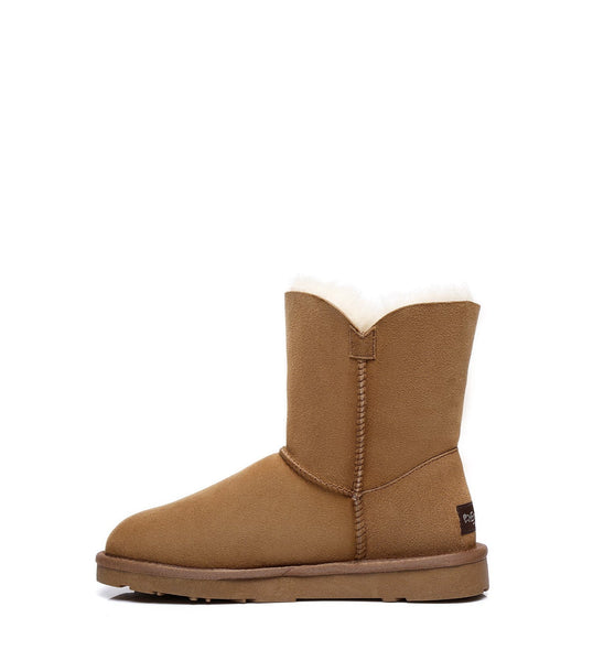 UGG Boots - Ever UGG Ladies Short Tassel Boots Faith #21593