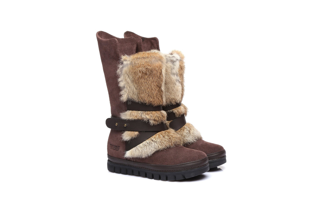 UGG Boots - Ever UGG Ladies Tall Buckle Boots Avery #11992 (531481952314)
