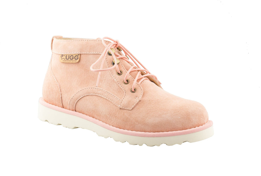 UGG Boots - Ever UGG Mini Boots Ladies Treadlite Lace Up Shoes Lucia #11699