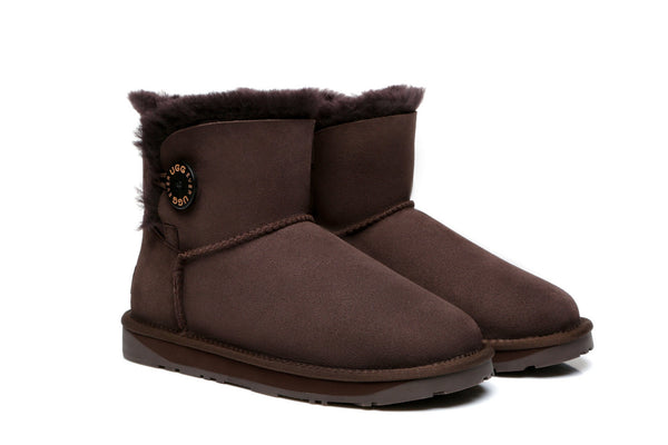 UGG Boots - EVER UGG Mini Button Boots #11702
