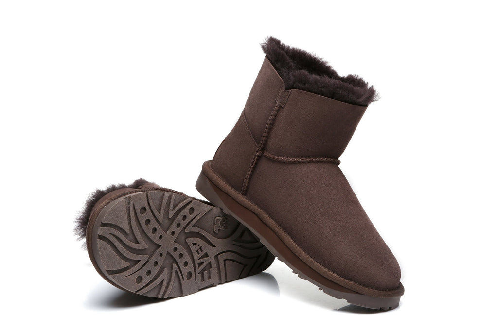 UGG Boots - EVER UGG Mini Button Boots #11702 (1787803172922)
