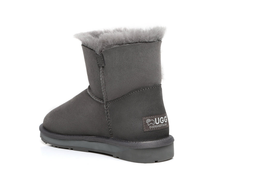 UGG Boots - Ever UGG Mini Button Boots With Crystal #11751- Clearance Sale