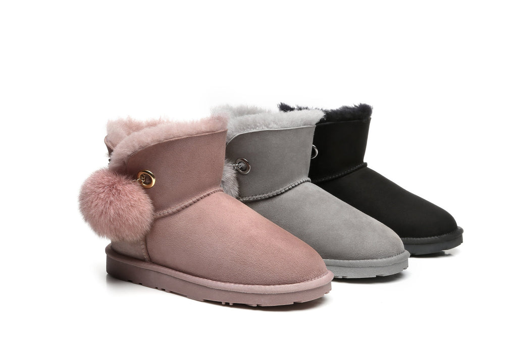 Ever UGG Pom Pom Boots Perry #21662 (192941195283)
