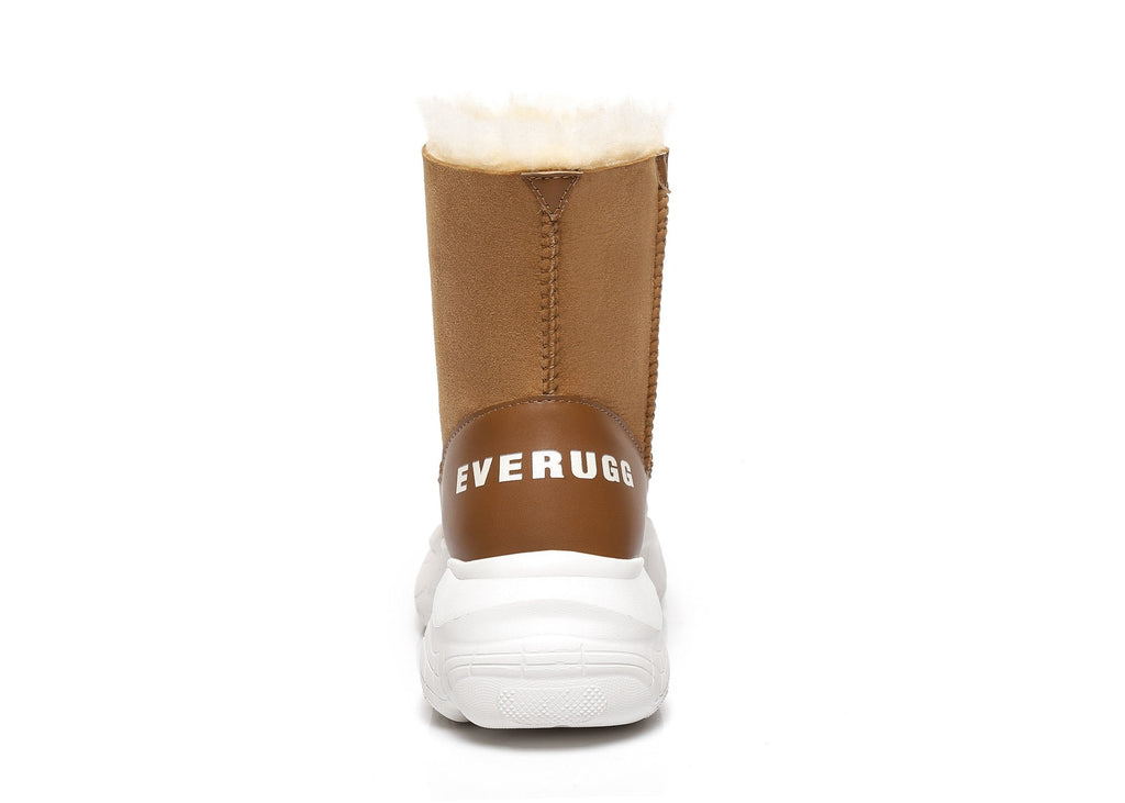 Ever Ugg Short Boots Sponge Sole Dawn