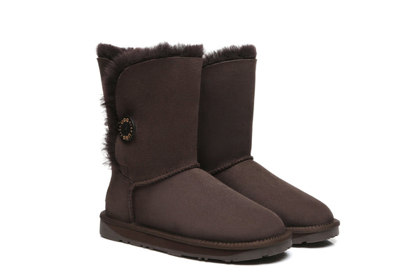 UGG Boots - EVER UGG Short Button Boots #11802