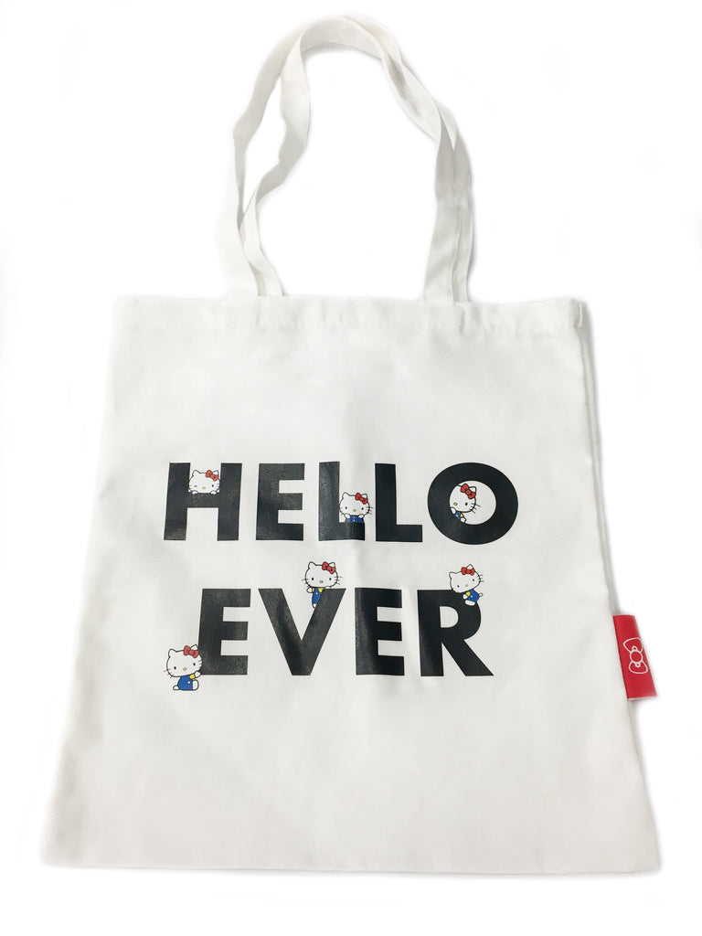 Hello Kitty Canvas Tote  Bag (4269165215802)