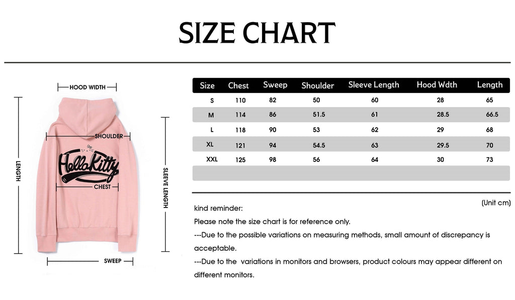 Hello Kitty Short Hoodie #888011 (2493518905402)