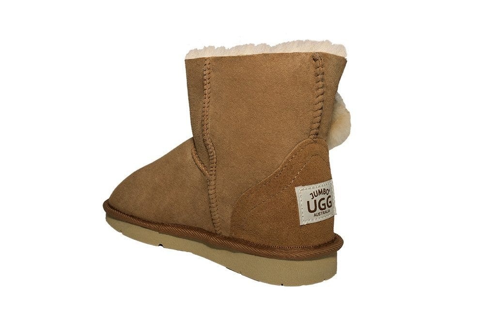 Jumbo UGG Australian Made Mini Boots Toggle Single
