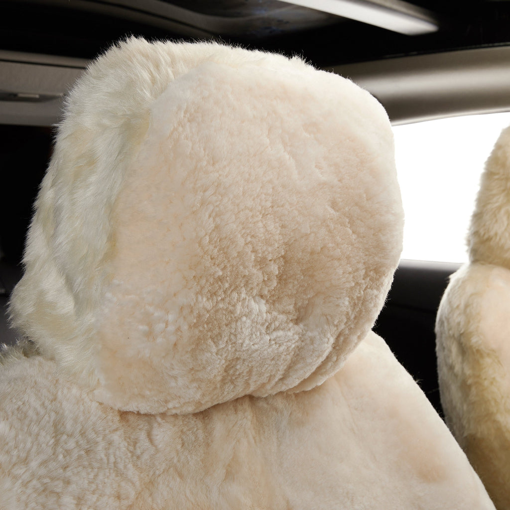 Sheepskin Twin Car Seat Cover #9988007 (2422624518202)