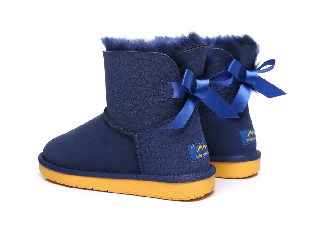 TA Cancer Council Boots With Bailey Bow (4396717670458)