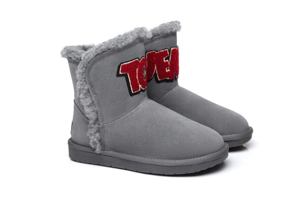 UGG Boots - Tom And Jerry Short Classic Boots Fluff