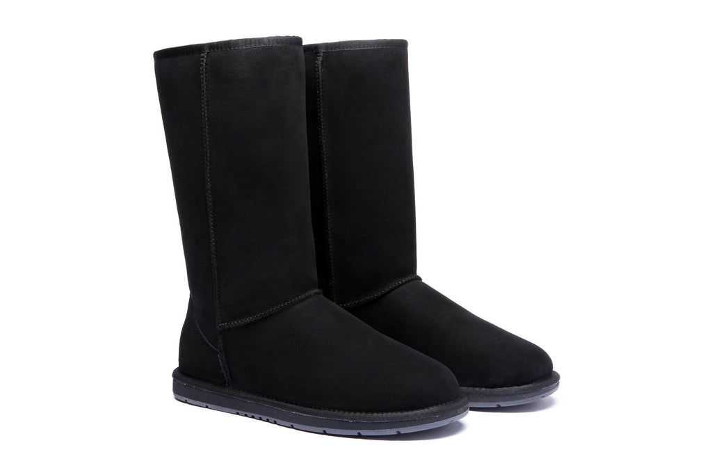 UGG Boots Australia Premium Double Face Sheepskin Tall Classic Water Resistant #15901
