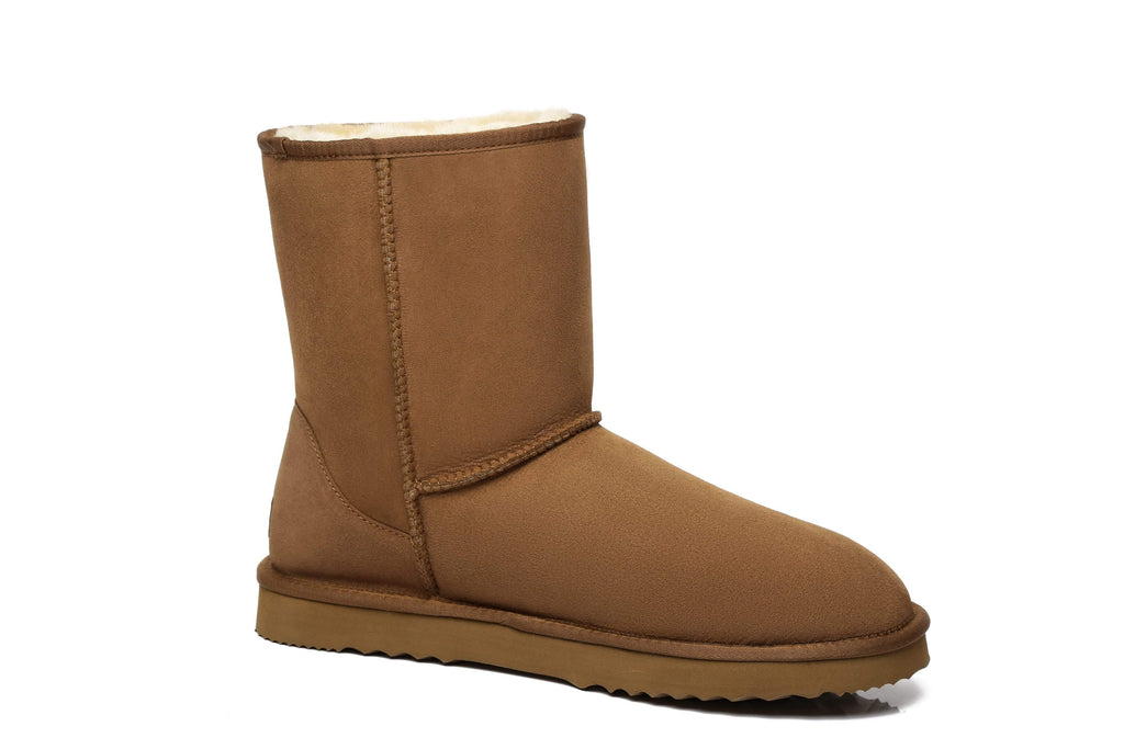 UGG Boots - UGG Boots Men Large Size Short Classic,Australia Premium Double Face Sheepskin